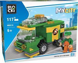 Blocki Klocki MyCity 117 Elementów Uliczna Zamiatarka