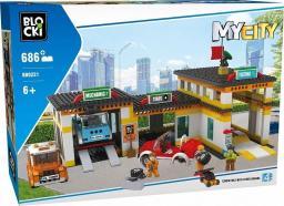 Blocki Klocki MyCity 686 Elementów Stacja Obsługi
