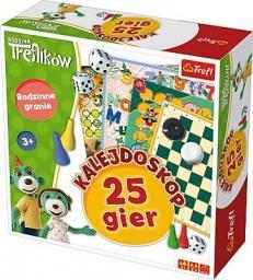 Trefl Gra Rodzina Treflików - Kalejdoskop 25 gier  (01678)
