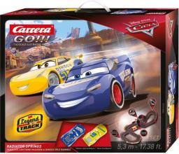Carrera GO!!! Tor wyścigowy Disney/Pixar Cars 3 - Chłodnica Górska (62446)