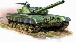 Zvezda Model plastikowy - T-72B Radziecki czołg główny (GXP-644210)