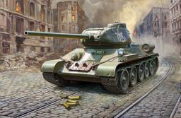 Zvezda Model plastikowy - T34/85 Sowiecki czołg średni (GXP-636664)