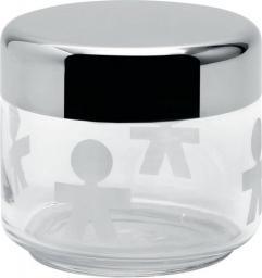 Alessi Słoik szklany z hermetyczną stalową pokrywką 0,5l