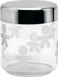 Alessi Słoik szklany z hermetyczną stalową pokrywką 0,75l