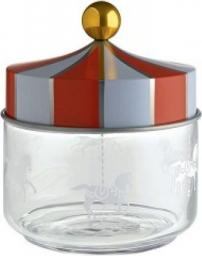 Alessi Słoik hermetyczny ze stalową pokrywką szkło 0,5l