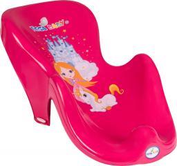 Tega Fotelik do kąpieli antypoślizgowy Księżniczka różowy (RÓŻ-LP-003-123)