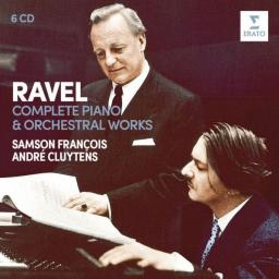 WMG Andre Cluytens , Samson François  - Ravel: Complete Piano & Orchestral Works