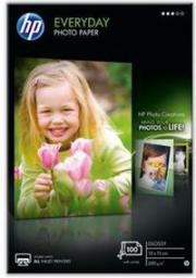 HP papier Everyday Snapshot Photo Glossy A6 (CR757A) 100 ark