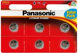 Panasonic Bateria Lithium Power CR2016 90mAh 6szt.