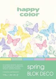 Blok biurowy Happy Color Blok A5 Rysunkowy Deco Happy Spring 20k