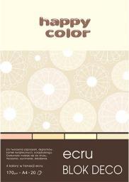 Blok biurowy Happy Color Blok Rysunkowy A5 Deco Happy Kremowy 20k