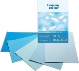 Blok biurowy Happy Color Blok A5 Rysunkowy Deco Happy Niebieski 20k