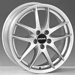 Ronal R46 Silver 6x14 4x108 ET38
