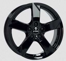 Rial KODIAK Black 7.5x17 5x112 ET45