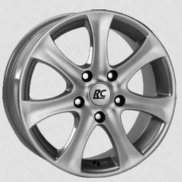 RC-Design MATRT Silver 7x16 5x108 ET39
