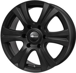 RC-Design RC146S Matt Black 7.5x17 6x139.7 ET30