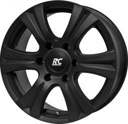 RC-Design RC146S Matt Black 7.5x17 6x139.7 ET25