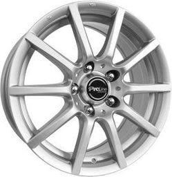 Proline CX100 Silver 7.5x17 5x105 ET40