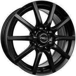 Proline CX100 Matt Black 7x16 5x115 ET38
