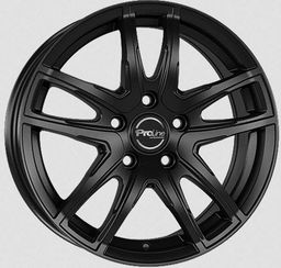 Proline VX100 Matt Black 5.5x14 4x98 ET35