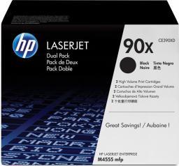 HP zestaw tonerów 90X (CE390XD) Black Dual Pack