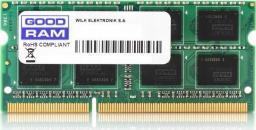 Pamięć do laptopa GoodRam DDR3 SODIMM 8GB 1333MHz CL9 (GR1333S364L9/8G)
