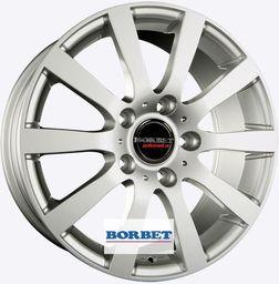 Borbet C2C Silver 7.5x17 5x130 ET50