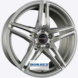 Borbet XRT Silver 9x18 5x112 ET21
