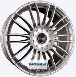 Borbet CW3 Silver 7.5x18 5x127 ET45