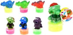 ToiToys Slime Ufoludek/Dinozaur z glutami, różne rodzaje