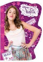 Derform Notes kształtowy A6 Violetta (15szt)