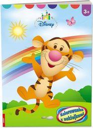 Kolorowanka z naklejkami Disney Maluch