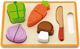 Viga Warzywa na desce drewniana zabawka