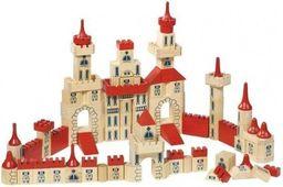 Goki Duży drewniany zamek 150 elementów