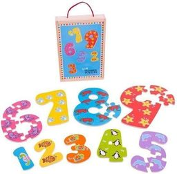 BigJigs Puzzle Cyferki od 1 do 9 BJ