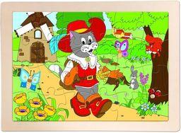 Woodyland Układanka Puzzle Kot w butach