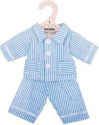 BigJigs Piżama dla lalki niebieska w paski (BJD522)