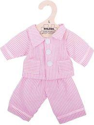 BigJigs Piżama dla lalki różowa w paski (BJD523)