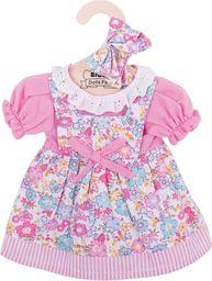 BigJigs Sukienka dla lalki różowa w kwiatki (BJD517)