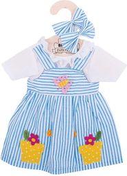 BigJigs Sukienka dla lalki w paski (BJD521)
