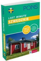 Last Minute Szwedzkie. Rozmówki ze słowniczkiem