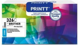 NTT System Toner PRINTT do BROTHER NTB326C (Cyan) (TN-336/326) 3500 str.