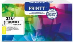 NTT System Toner PRINTT do BROTHER NTB326Y (Yellow) (TN-336/326) 3500 str.