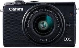 Aparat Canon EOS M100 + 15-45 + M55-200 (2209C022)