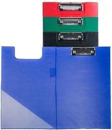 D.Rect Deska A4 PVC z klipem i okładką czarna D.RECT