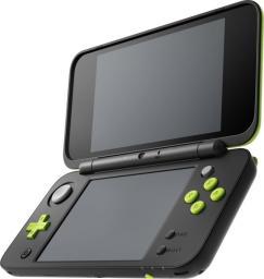 New 2DS XL czarno-zielona + Mario Kart 7