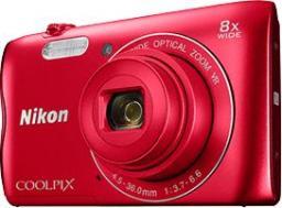 Aparat cyfrowy Nikon Coolpix A300 + karta 16GB + etui (VNA963K003)