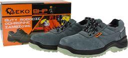 Geko buty robocze ochronne model no.4 zamszowe premium rozmiar 44 (G90534)