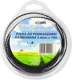 Geko Żyłka do podkaszarki karbowana 2,4mmx15m (G73996)