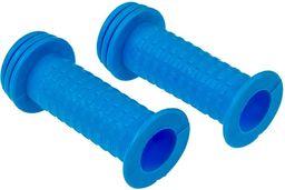 Chwyty kierownicy dziecięce LF-10 90mm niebieskie